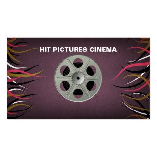 Tentacle Hall Filmmaker Videographer Entertainment Business Card
