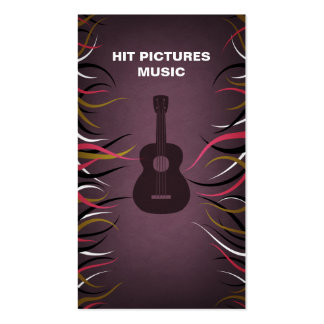 Tentacle Hall Guitar Musician Band Card Business Card