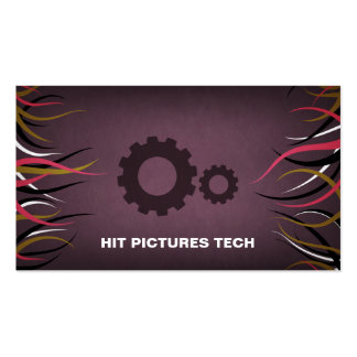 Tentacle Hall Industrial Production Gears Card V2 Business Card