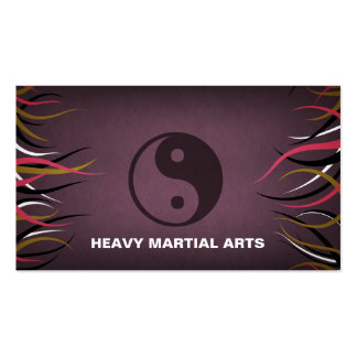 Tentacle Hall Martial Arts Studio Training Business Card