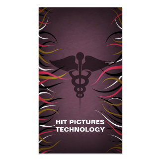 Tentacle Hall Medical Science Business Cards