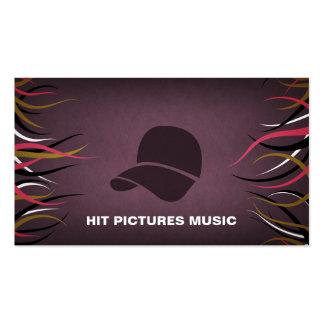 Tentacle Hall Musician Deejay Hip Hop Cards Business Card