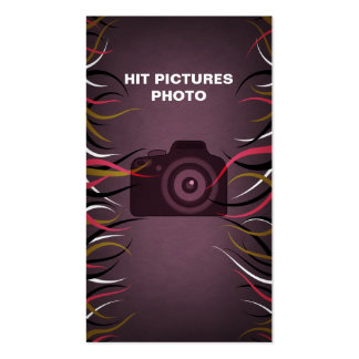 Tentacle Hall Photographer Business Cards