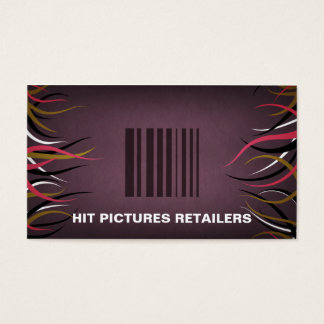 Tentacle Hall Retail Barcode Business Cards