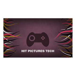 Tentacle Hall Technology Gaming Software Cards Business Card