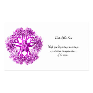 Tentacle Section in Pink Business Card
