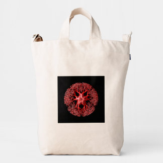 Tentacle Section in Red Duck Bag