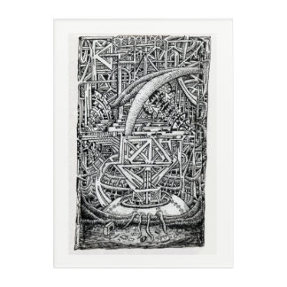 Tentacle Tank by Brian Benson Acrylic Print