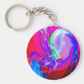 tentacled vortex keychain