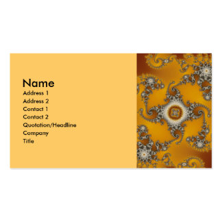 Tentacles Fractal Double-Sided Standard Business Cards (Pack Of 100)
