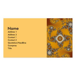 Tentacles Fractal Business Card