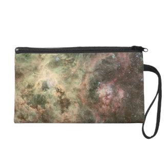 Tentacles of the Tarantula Nebula Wristlet Purse