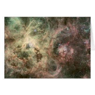 Tentacles of the Tarantula Nebula Greeting Card