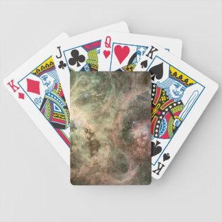 Tentacles of the Tarantula Nebula Bicycle Poker Cards