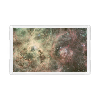 Tentacles of the Tarantula Nebula Rectangle Serving Trays