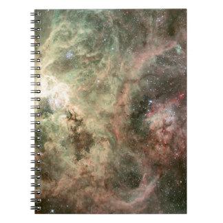Tentacles of the Tarantula Nebula Spiral Note Book