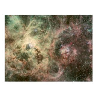 Tentáculos de la nebulosa del Tarantula Postales
