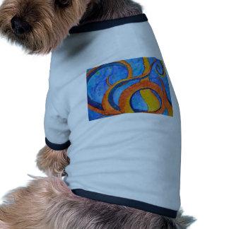 Tentáculos de la puesta del sol ropa perro