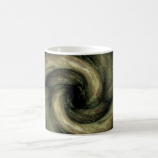 Tentáculos verdes del monstruo taza clásica