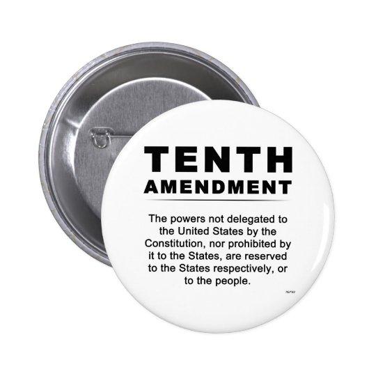 Tenth Amendment Button