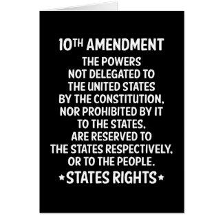 Tenth Amendment Card