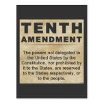 Tenth Amendment Postcard