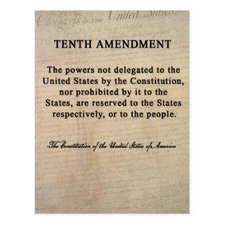 Tenth Amendment Postcards