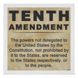 Tenth Amendment Poster