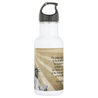 Tenth Amendment Stainless Steel Water Bottle