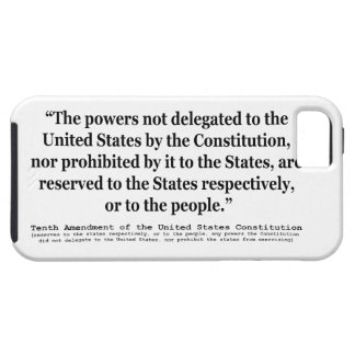Tenth Amendment to the United States Constitution iPhone SE/5/5s Case
