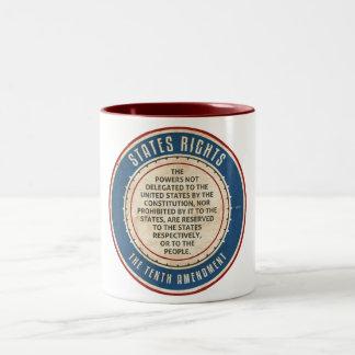 Tenth Amendment Two-Tone Coffee Mug