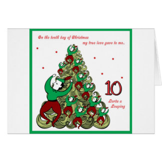 Tenth Day of Christmas Card