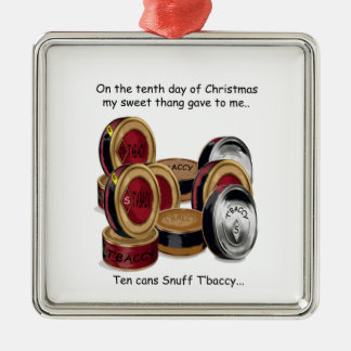 Tenth Day Redneck Christmas Ornaments