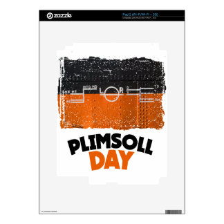 Tenth February - Plimsoll Day - Appreciation Day Skins For iPad 2