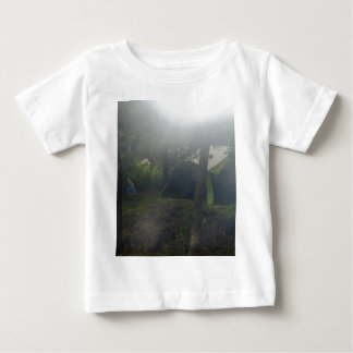 tents in morning mist baby T-Shirt
