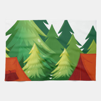tents kitchen towel