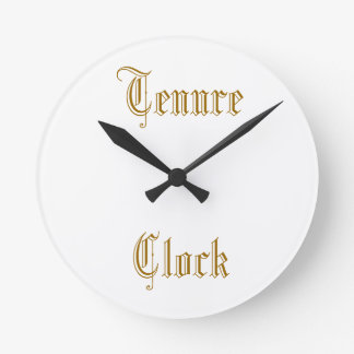 Tenure Clock - Old