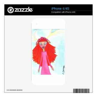 Teodora wise.jpg calcomanías para el iPhone 4