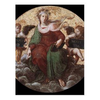 "Teología, ""de Raphael de Segnatura del della de la Postales"
