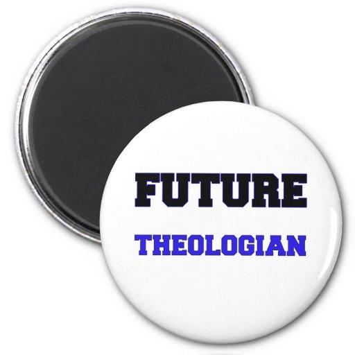 Teólogo futuro iman de nevera