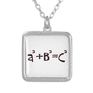 Teorema pitagórico colgante cuadrado