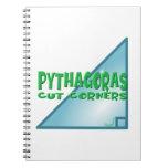 Teorema pitagórico libreta espiral