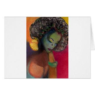 Teoría 1 del color tarjeta de felicitación
