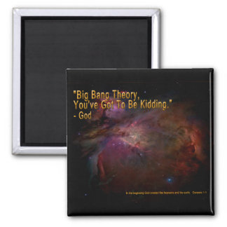 Teoría de Big Bang Imán Cuadrado