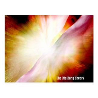 Teoría de Big Bang Tarjeta Postal
