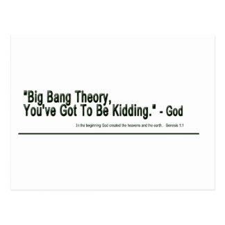 Teoría de Big Bang Postales