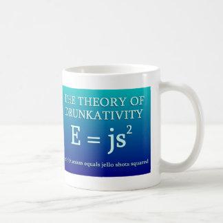 Teoría de Drunkativity Taza De Café