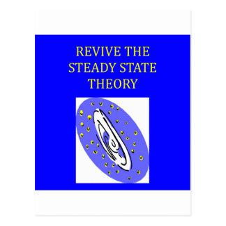 teoría de estado estacionario postal