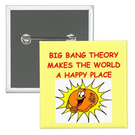 teoría de explosión grande pin cuadrada 5 cm