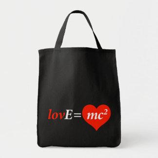 Teoría de la ecuación del amor bolsas de mano